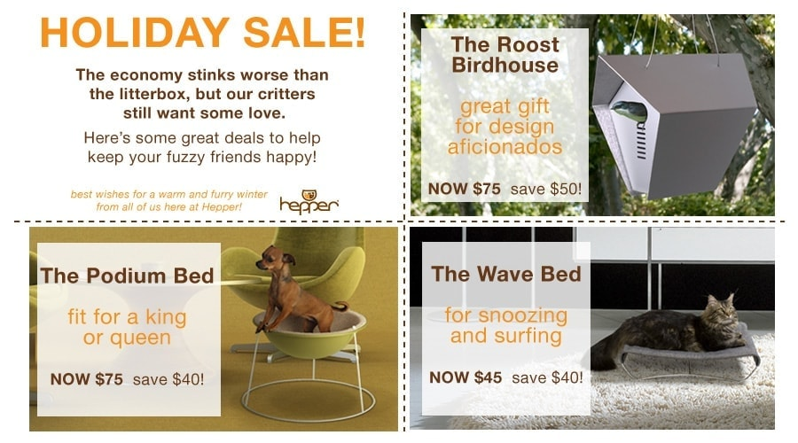 Hepper holiday sale