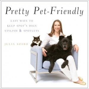 Julia Szabo Pretty Pet Friendly Book Cover