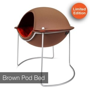 Hepper Pod bed brown
