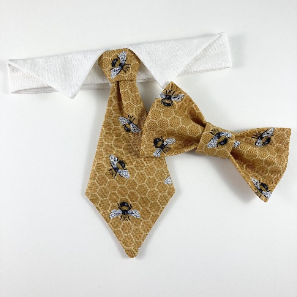 Bumblebee cat necktie Etsy