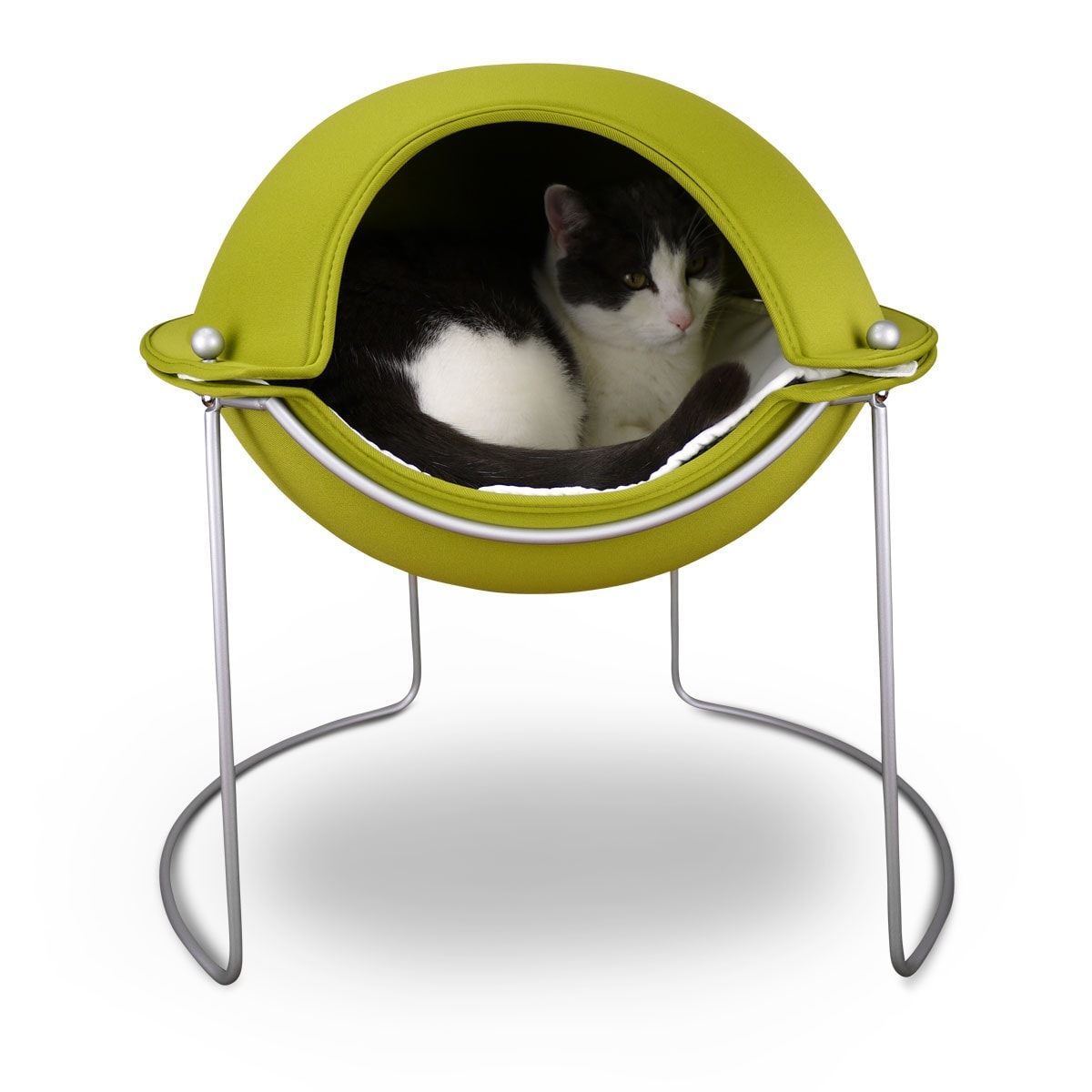 Cat Pod Bed Green