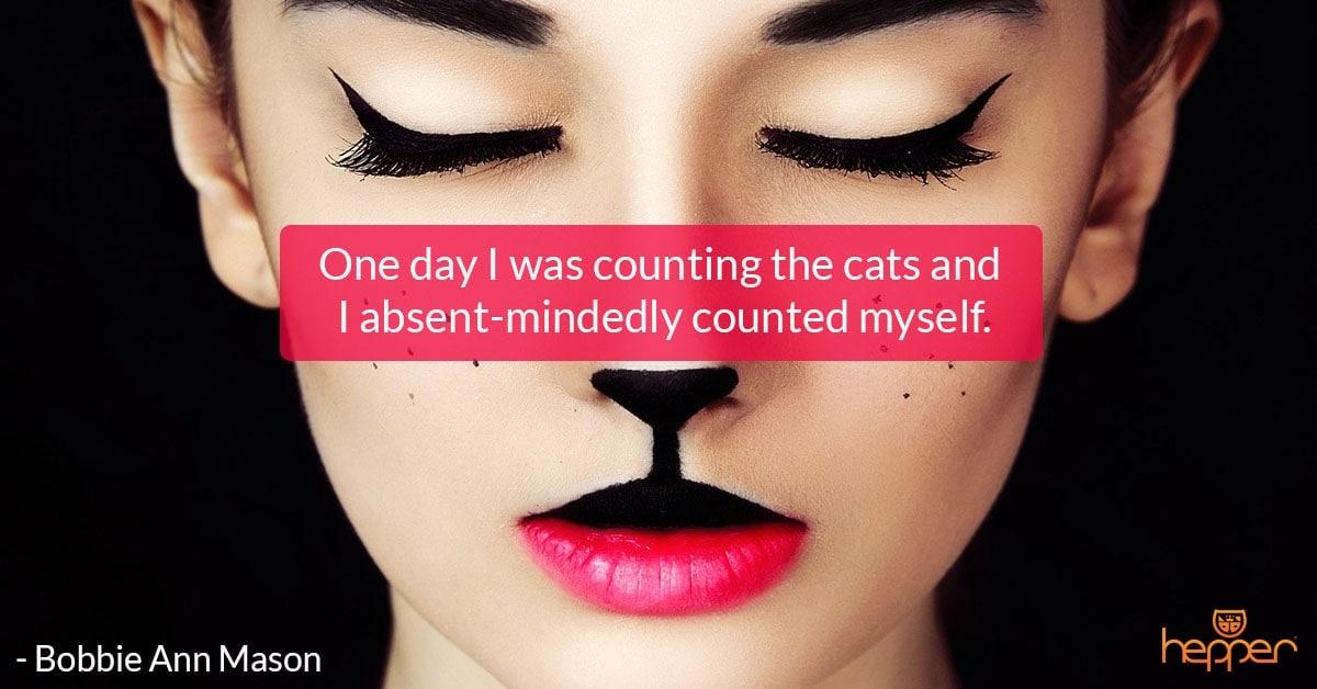 Best Cats Quotes – Bobbie Ann Mason