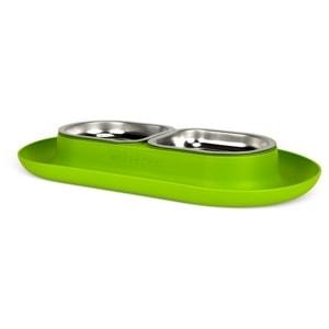 NomNom Cat Dish Green