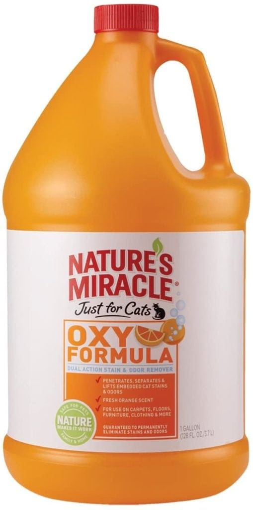 Natures miracle just for cats orange oxy