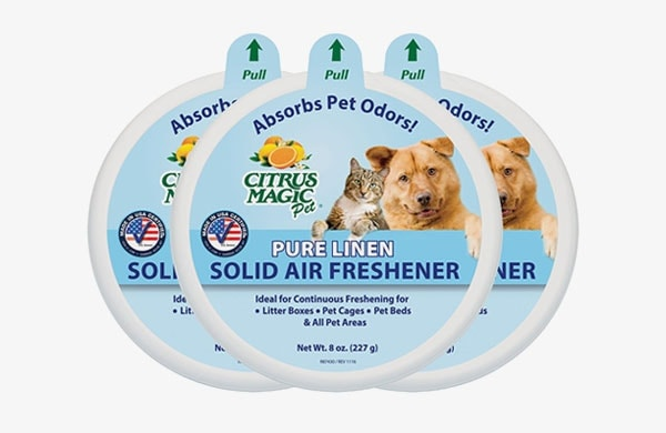 pure linen solid air freshener