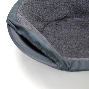 Hepper Nest Cat Bed Grey Detail