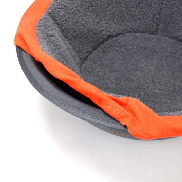 Orange Cat Bed Detail