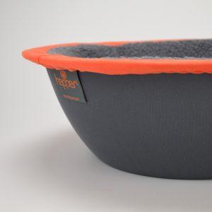 Orange Cat Bed Detail