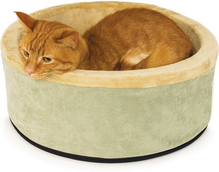 10K&H Pet Products Thermo-Kitty Cat Bed