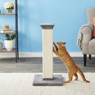 1Frisco 33.5-in Sisal Cat Scratching Post