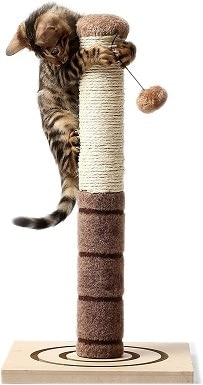 2 4 Paws Stuff Tall Cat Scratching Post Cat Interactive Toys