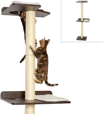 3PetFusion Ultimate Cat Climbing Tower & Activity Tree