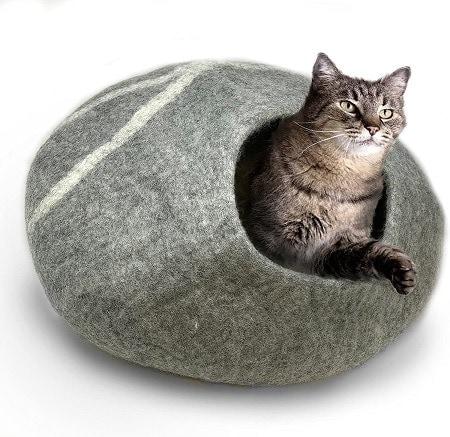 6iPrimio 100% Natural Wool Eco-Friendly 50 cm Cat Cave