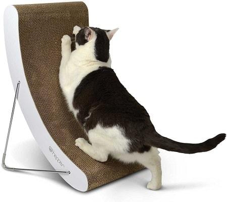 7Hepper Hi-lo Cat Scratcher, A 5 Position Cat Scratching Post