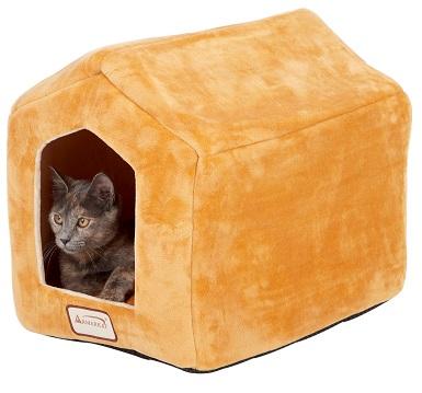 Armarkat Cave Shape Covered Cat & Dog Bed