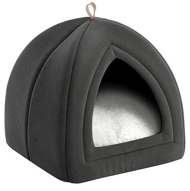 Bedsure Pet Tent Cave Bed for Cats