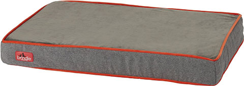 Brindle Waterproof Orthopedic Pillow Cat & Dog Bed w:Removable Cover