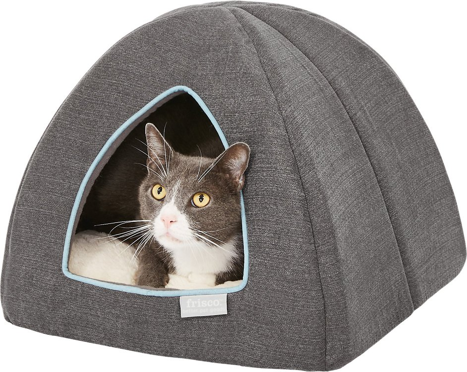 Frisco Igloo Covered Cat & Dog Bed