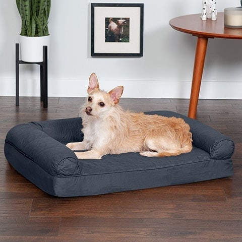 FurHaven Quilted Orthopedic Sofa Cat & Dog Bed w: Removable Cover