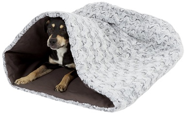 P.L.A.Y. Pet Lifestyle and You Snuggle Covered-Bolster Cat & Dog Bed