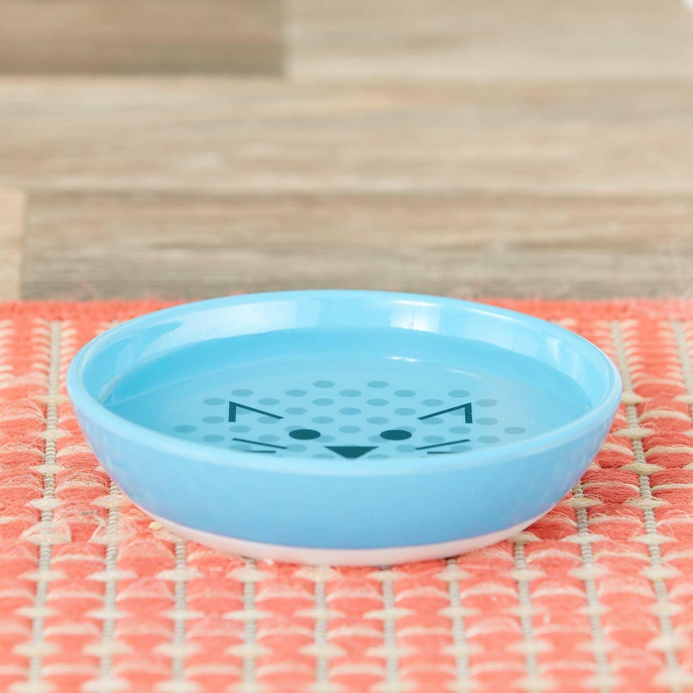 actual use of Van Ness Ecoware Non-Skid Cat Dish