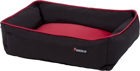 5dogzilla Rectangular Lounger Bolster Cat & Dog Bed