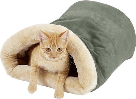 6Armarkat Burrow Cat Bed