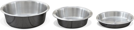 7PetFusion Premium Brushed Stainless Steel Cat Bowl