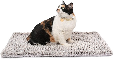 7Self Heating Cat Pad Self-Warming Cat Dog Bed