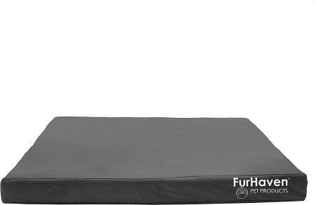 8FurHaven Deluxe Oxford Orthopedic IndoorOutdoor Dog & Cat Bed