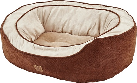 8Precision Pet Products Gusset Daydreamer Bolster Cat & Dog Bed