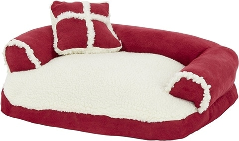 Aspen Pet Bolster Cat & Dog Bed