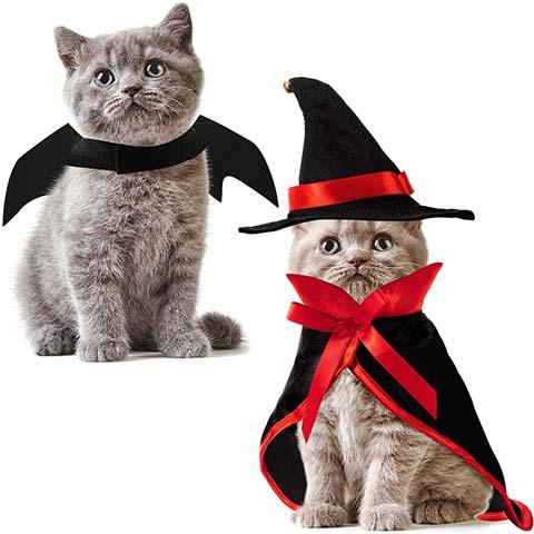 Frienda Pet Halloween Vampire Costume