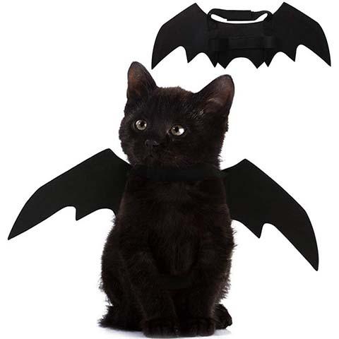 Puoyis Pet Cat Bat Wings