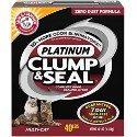 Arm & Hammer 40lb Clump & Seal Platinum Litter