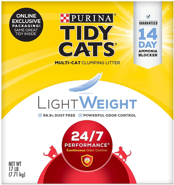 Purina Tidy Cats LightWeight 24:7 Performance Clumping Cat Litter