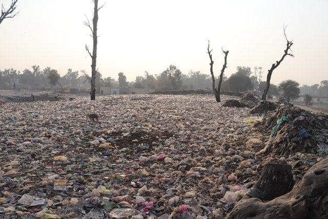 wasteland - landfill