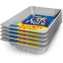 Cat's Pride KatKit Disposable Trays, Includes Litter