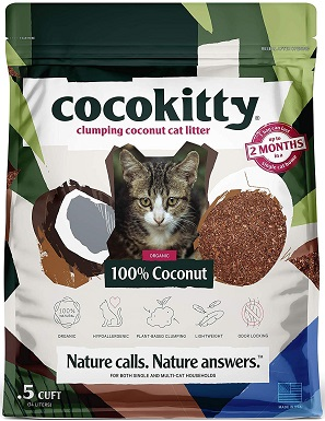 ECO ABSORB Coconut Cat Litter