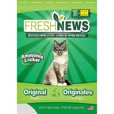 Fresh News Recycled Paper Litter