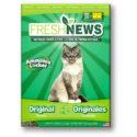 Fresh News Post Consumer Paper Pellet Cat Litter