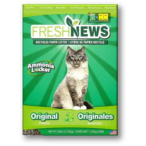 Fresh News Unscented Non-Clumping Paper Cat Litter