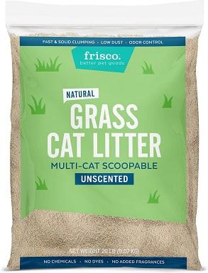 Frisco All Natural Unscented Clumping Grass Cat Litter