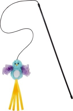 Frisco Bird Teaser with Feathers Cat Toy_Chewy