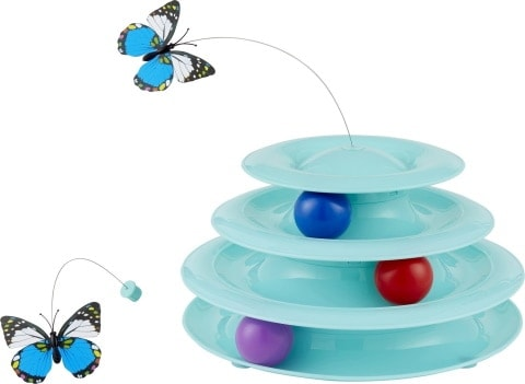 Frisco Cat Tracks Butterfly Cat Toy_Chewy