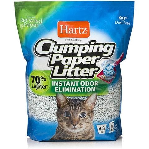HARTZ Multi-Cat Clumping Paper Litter