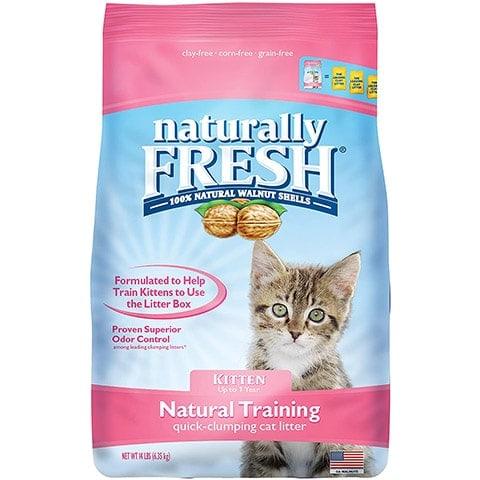 Naturally Fresh Cat Litter – Walnut-Based Quick-Clumping Kitty Litter