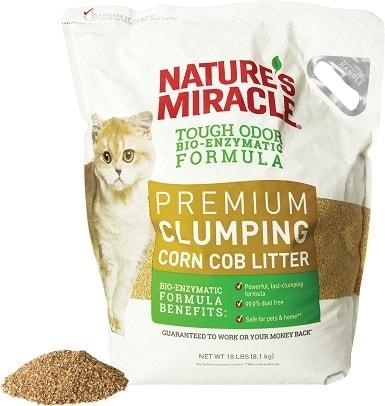 Nature's Miracle Corn Cob Litter