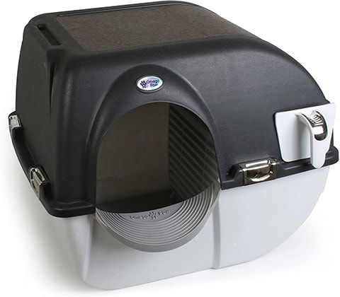 Omega Paw Elite Roll 'n Clean Litter Box