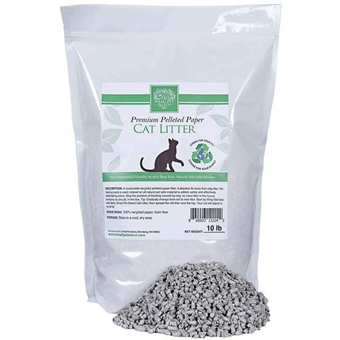 Small Pet Select Recycled Pelleted Paper Litter